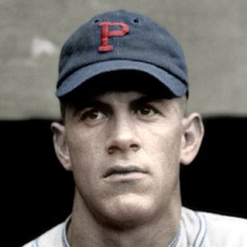 "Charlie Grimm - 1921 Pittsburgh Pirates - 4""x6"" colorized print"